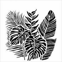 Sabluuna - 30 x 30 cm - Tropical Fronds
