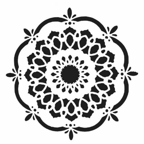Sabluuna - 30 x 30 cm - Handcut Blossom