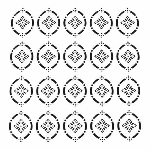 Sabluuna - 30 x 30 cm - Pointelle