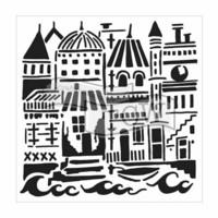 Sabluuna - 30 x 30 cm - Floating City