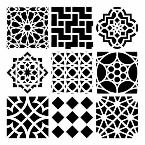 Sabluuna - 30 x 30 cm - Moroccan Tiles