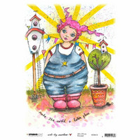 Decoupage-arkki - A4 - Marlene's World nr.18