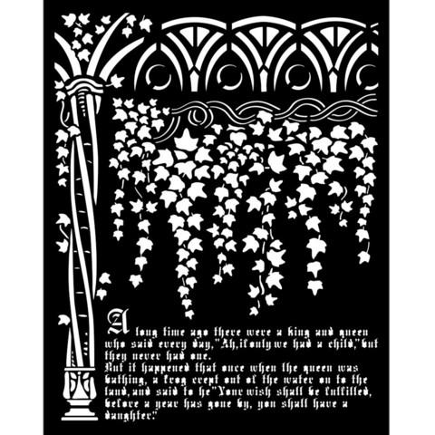 Sabluuna - 20 x 25 cm - Sleeping Beauty Ivy and History