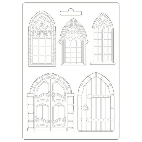 Muotti - A4 - Sleeping Beauty Doors and Windows