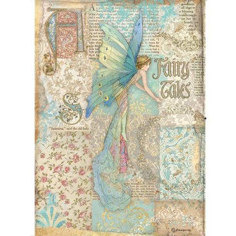Decoupage-arkki - A4 - Sleeping Beauty Fairy Tales