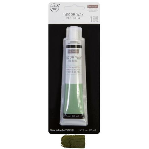 Vaha - Re-Design with Prima Wax Paste Green Aurora - 50 ml