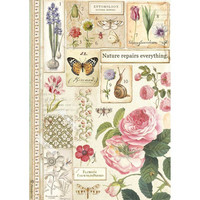 Decoupage-arkki - A4 - Botany