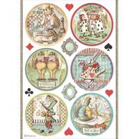 Decoupage-arkki - A4 - Alice Rounds