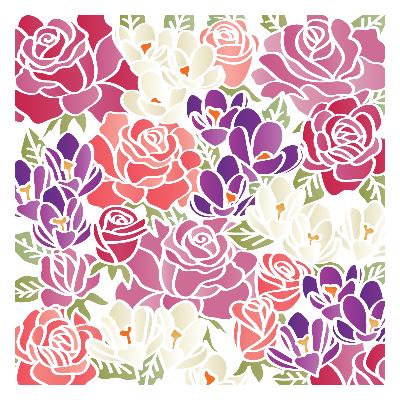 Sabluuna - 15 x 15 cm - Bursting Bouquet