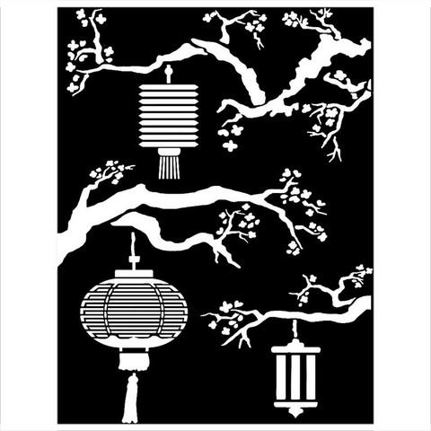Sabluunasetti - 15 x 20 cm - Sir Vagabond in Japan Lanterns