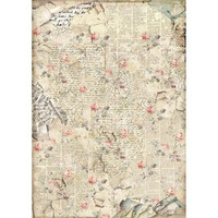 Decoupage-arkki - A3 - Sound of Roses