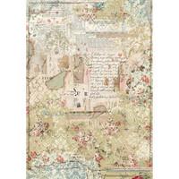Decoupage-arkki - A3 - Wallpaper Layers