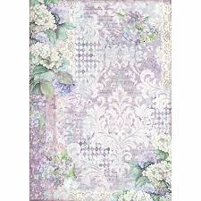 Decoupage-arkki - A3 - Hortensia Wallpaper