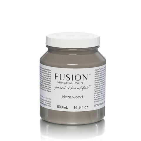 Fusion Mineral Paint - Hazelwood - Pähkinänruskea - 500 ml