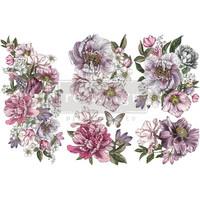Siirtokuva - 45x30 cm - Dreamy Florals - Prima Redesign Decor Transfer