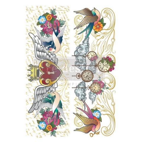 Siirtokuva - 60 x 88 cm - CeCe Hey Sailor - Prima Redesign Decor Transfer