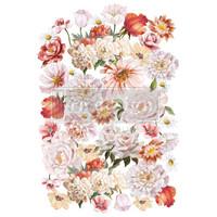 Siirtokuva - 60 x 88 cm - Pretty in Peach - Prima Redesign Decor Transfer