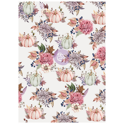Riisipaperi - 29x41 cm - Prima Marketing Hello Pink Autumn Rice Paper Good Vibes