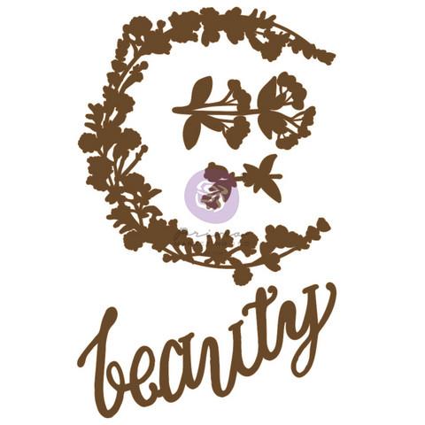 Koriste 13x20 cm - Prima Marketing Hopeful Beauty Chipboard Diecut