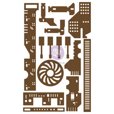 Koriste 13x20 cm -  Prima Marketing All the Parts Chipboard Diecut
