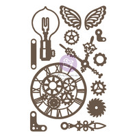 Koriste -  Prima Marketing Beautiful Gears Chipboard Diecut