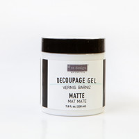Matta decoupage-lakkaliima 230 ml - Prima Decoupage Varnish Matte