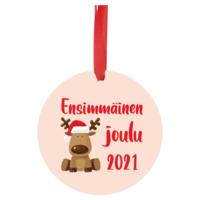 Joulukoriste 7 cm - Ensimmäinen joulu 2021