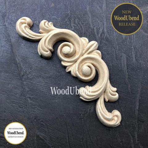 Puukoriste - 13x5 cm - WoodUBend 6020