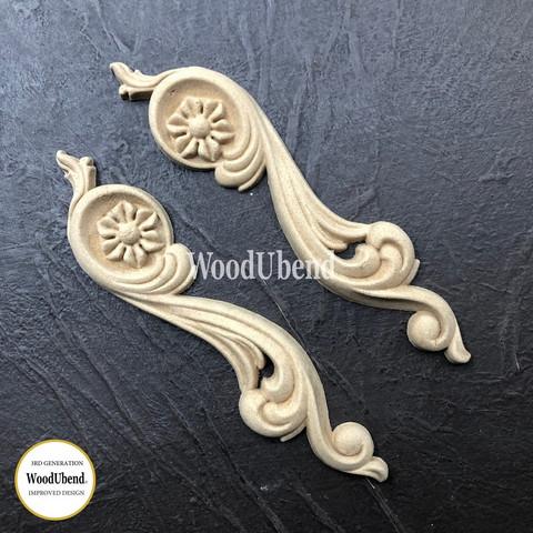 Puukoriste pari  12x3 cm - WoodUBend 0364-5