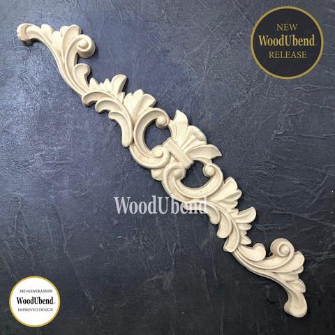 Puukoriste  32x6 cm - WoodUBend 6044