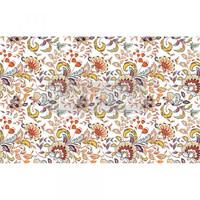 Decoupage-arkki - 48x76 cm - Tangerine Spring Re-Design Prima Tissue Paper