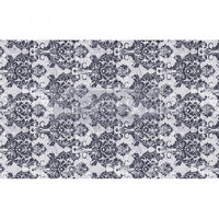 Decoupage-arkki - 48x76 cm - Evening Damask Re-Design Prima Tissue Paper