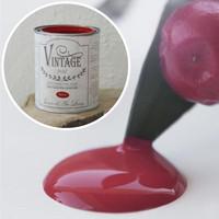 Kalkkimaali - JDL - Vintage Paint - Warm Red - Punainen - 100 ml
