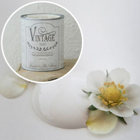 Kalkkimaali - Kermanvalkoinen - 100 ml - JDL - Vintage Paint - Soft Cream