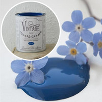Kalkkimaali - JDL - Vintage Paint - Warm Blue - Sininen - 100 ml