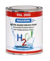 Kalustemaali - Maston H2O! - Punainen - 1 l