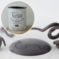 Kalkkimaali - JDL - Vintage Paint - French Grey - Tummanharmaa - 2,5 l