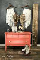 Kalkkimaali - Dixie Belle - Flamingo - Flamingonpunainen - 473 ml