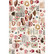 Decoupage-arkki - 48x76 cm - Super Decadent - Prima Redesign Decor Tissue Paper