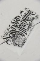 Leimasin - 8 x 15 cm - JDL Vintage Paint - Text Silver ware