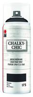 Kalkkimaalispray - Ebony 175 - Marabu ChalkyChic - 400 ml