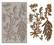 Silikonimuotti - 20x13 cm - Prima Re-Design - Herbology