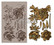 Silikonimuotti - 20x13 cm - Prima Re-Design - Wilderness Rose