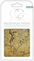 Decoupage-arkki - World Map 2 - Craft Consortium