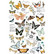 Siirtokuva - Butterfly Dance - 60 x 88 cm - Prima Redesign
