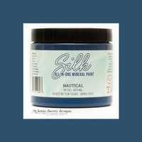 Silk All-In-One Paint - Merellisensininen - Nautical-  473 ml
