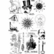 Siirtokuva-arkit 2 kpl - 15 x 21 cm - Emporium