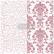 Leimasin - 30 x 30 cm - Prima Re-design Decor Stamp - Imperial Crackle