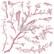 Leimasin - 30 x 30 cm - Prima Re-design Decor Stamp - Springtime