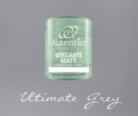 Kalkkimaali - Harmaa - Ultimate Grey - Versante Matt - 500 ml